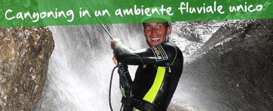 Canyoning Val di Sole, Dimaro