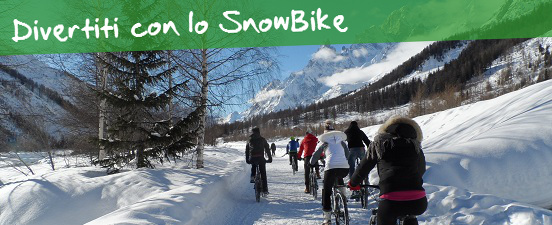Snow Bike Courmayeur