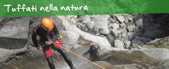 Escursione Canyoning in Val d'Ossola